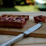 Crostata di prugne svizzera