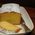 Lemon cake , una quattro quarti per il tè.