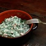 Spatzle agli spinaci o gnocchetti agli spinaci