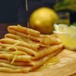 Crêpes al limoncello