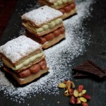Millefoglie con mousse di pistacchio e cioccolato per la Re-cake 6