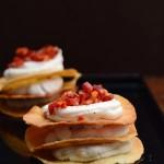 Millefoglie di salsiccia di Calabria Dop  e ricotta di capra