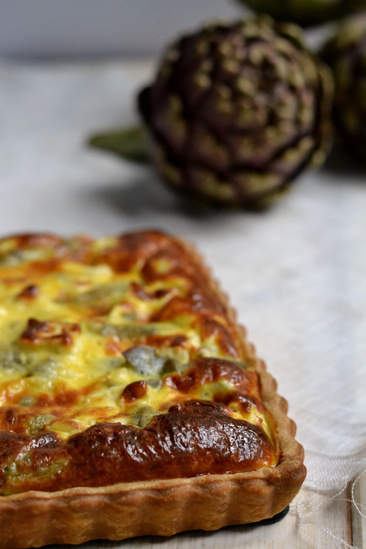 Quiche Ricetta Base.La Pasta Brisee Di M Roux Per La Quiche Ai Carciofi E Feta Dell Mtc In The Mood For Pies