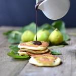 Pancakes ricotta,fichi e cioccolato per Cioccolato e….