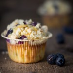 Blueberry streusel muffins per Cakes lab