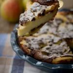 Clafoutis pere e cioccolato di Gabila per Recake