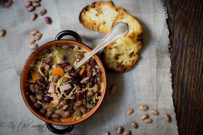 zuppa di fagioli -1