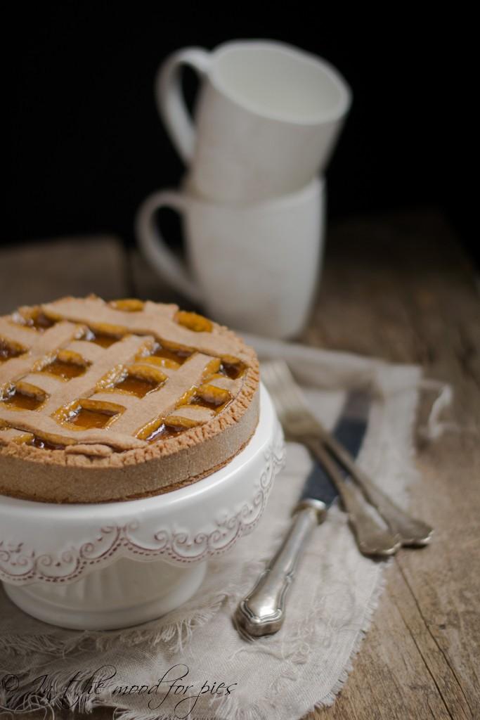 Crostata farro e marmellata albicocche-1