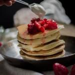 Pancakes, buoni, ma buoni, per il nuovo libro di Cakes lab
