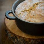 Pane senza impasto ai semi di lino