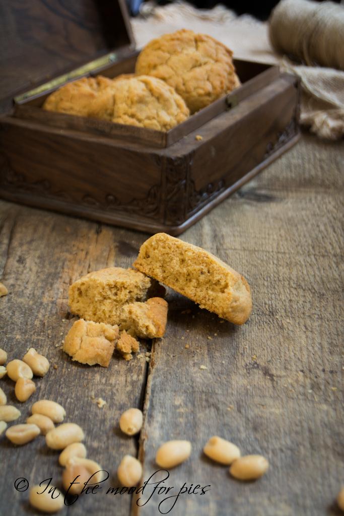 Peanuts butter cookies aperto-1