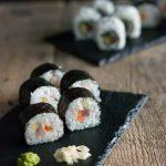 Tra alghe, riso e sushi