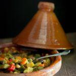 Tajine di verdure con cous cous piccante
