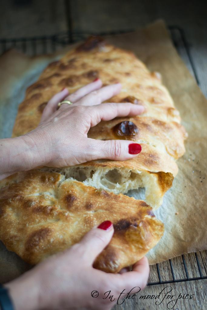 Ricetta Pizza E Pane.Pizza Bianca Senza Impasto Di Jim Lahey In The Mood For Pies