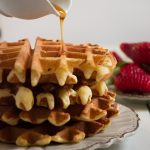 Waffle alla vaniglia