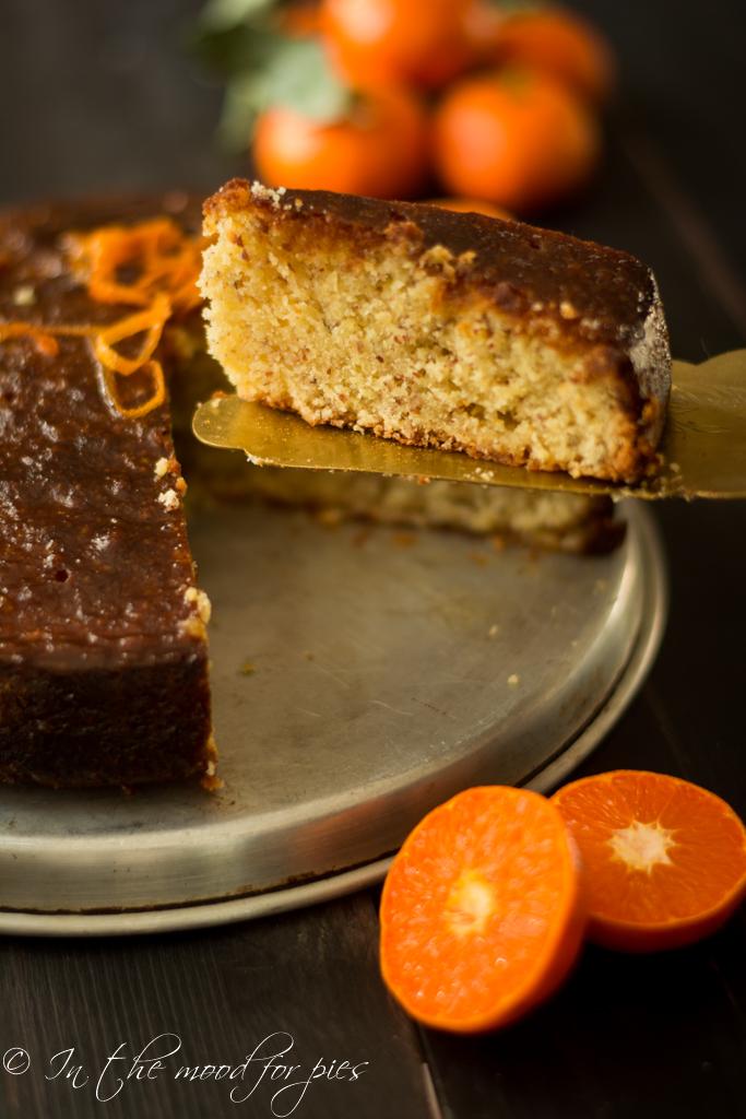 Fetta torta clementine