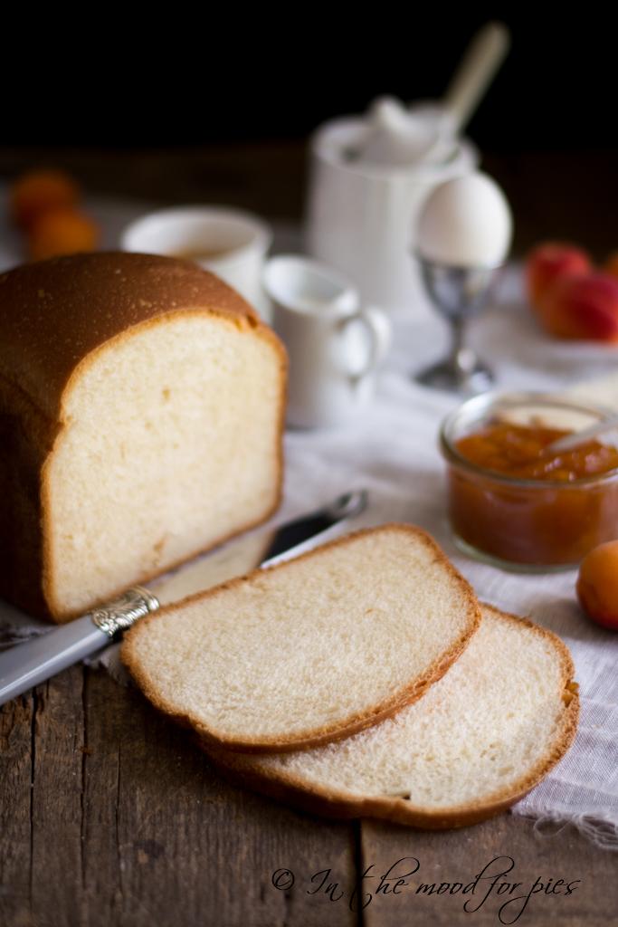 Fette di pane a cassetta