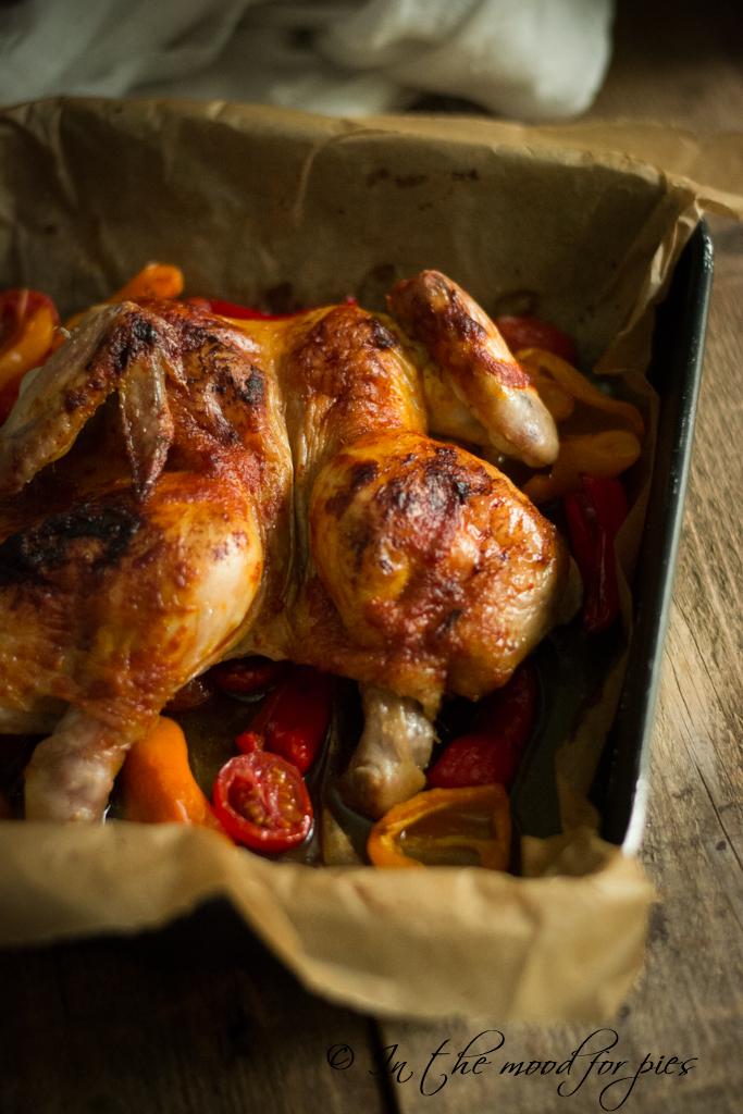 pollo con Harissa di Jamie