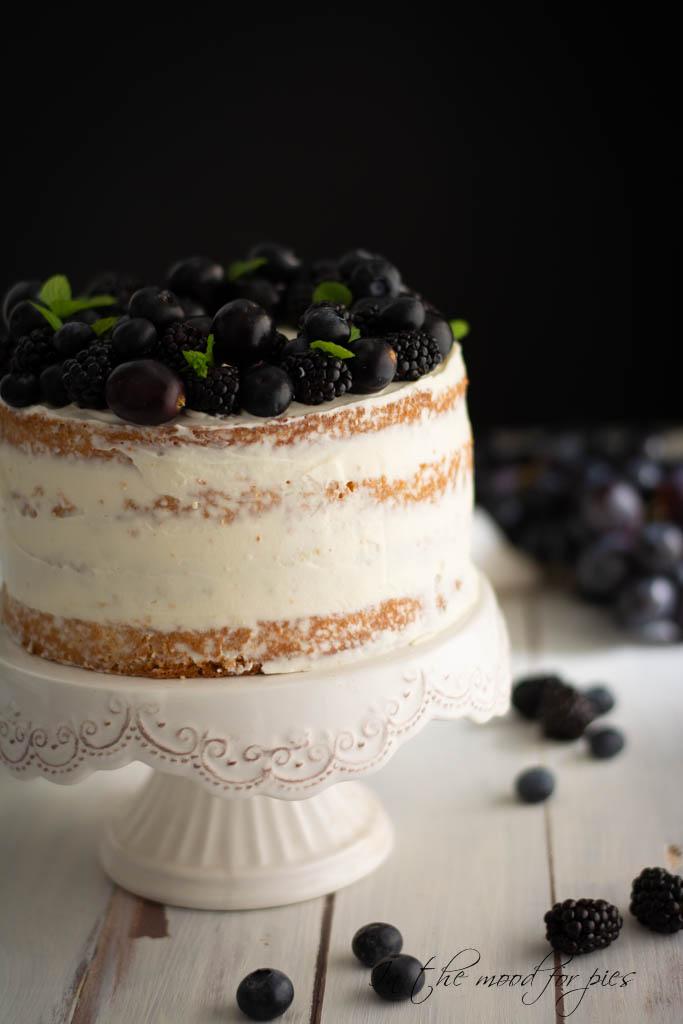 naked cake alzatina