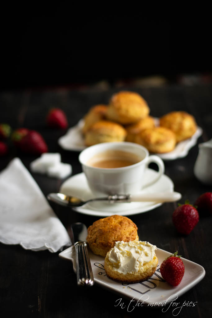 scones and tea
