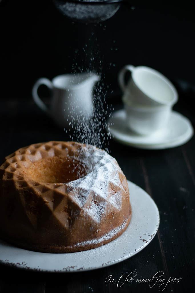 ciambella zucchero velo